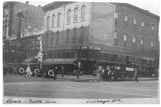 1921 photo courtesy of Aaron David.