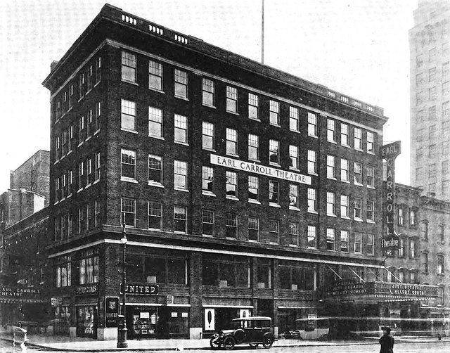 Earl Carroll Theatre  1922