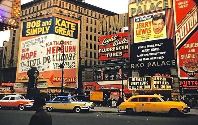 1956 photo via Raymond Storey.