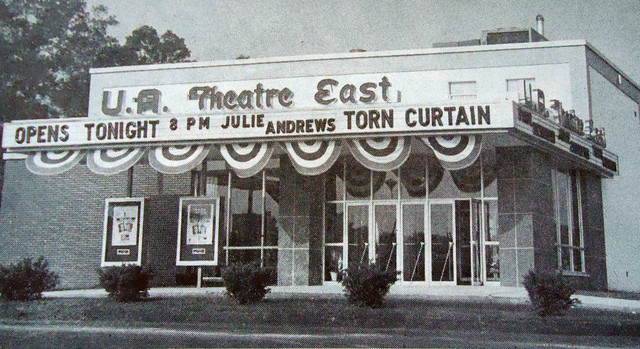 UA East Theatre exterior
