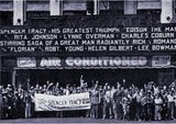 "<p>Loew's State Theatre manager Fred Greenway invites the newsies of Boston for ""Edison, the Man"" in 1940</p>"