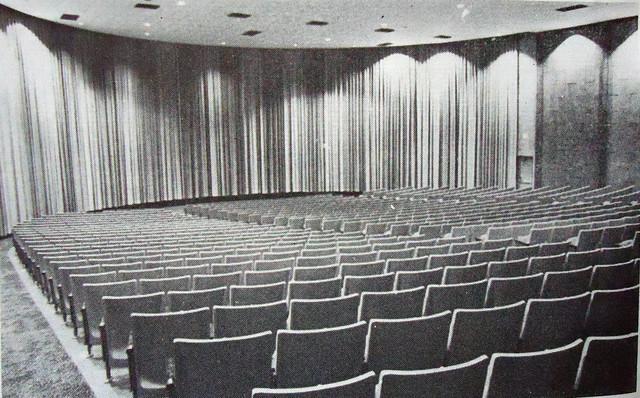 NGC's Cypress Village Theatre auditorium