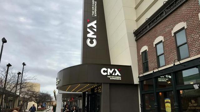 The new CMX VIP Dine-In Cinema at Westfield Old Orchard (Mike Isaacs / Pioneer Press)