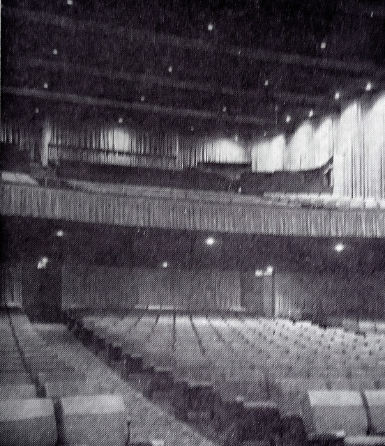 Pacific's Picwood Theatre auditorium (after remodel)