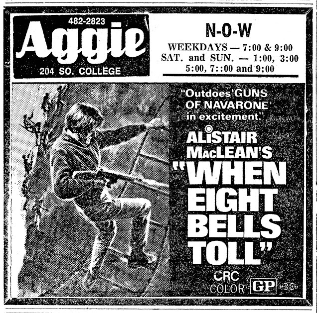 WHEN EIGHT BELLS TOLL(1971)