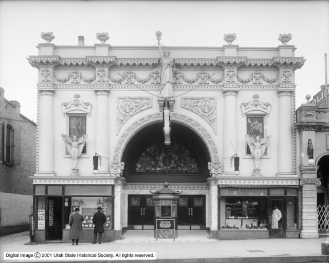 Liberty Theater on March 15, 1912