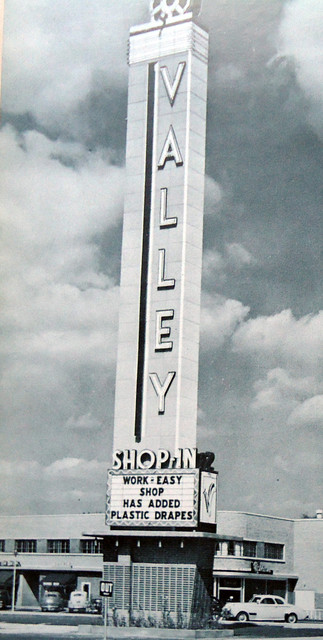 Valley Theatre exterior tower