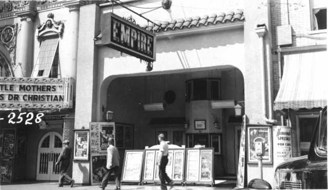 Empire Theater in 1953
