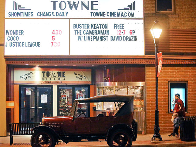 CLASSIC (TOWNE) Theatre; Watertown, Wisconsin.