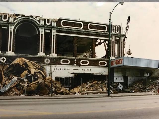 Demolition photo credit Rita Garcia Sindelar.