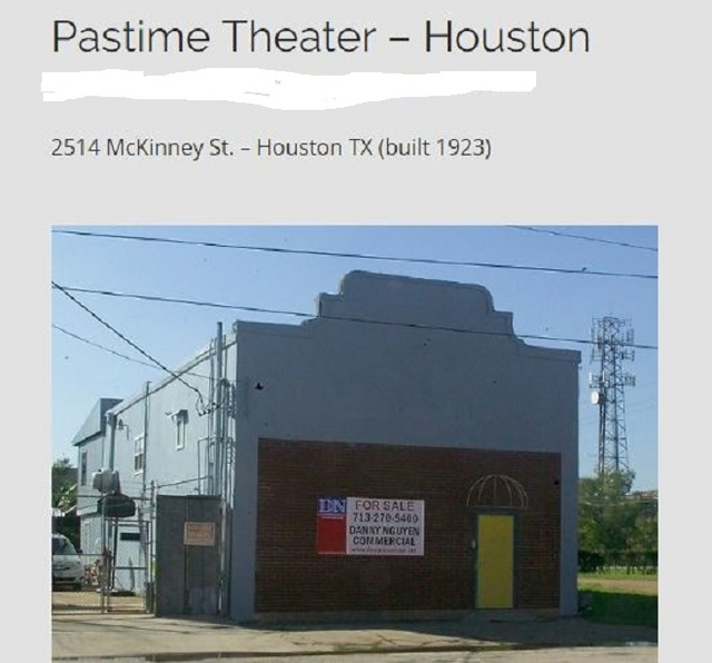 Pastime Theater