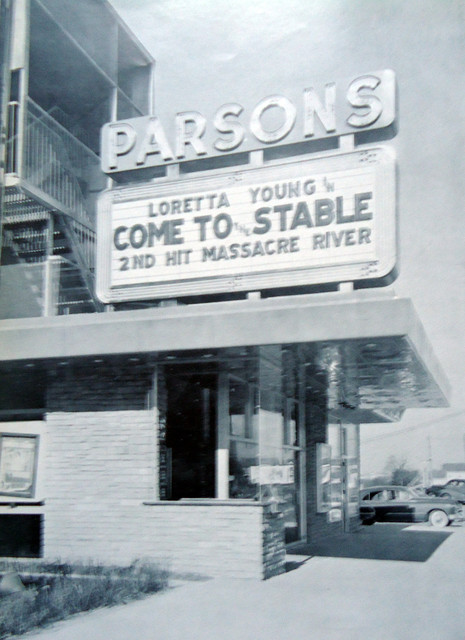 Parsons Theatre exterior
