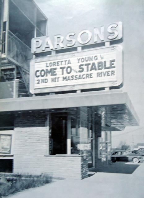 Parsons Theatre exterior