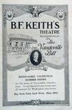 B. F. Keith's Theatre The Vaudeville Bill