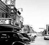 Iowa Theater circa 1953