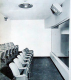 Crest Theatre's Crying Room interior