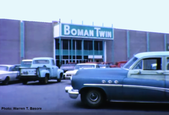 Boman Twin Cinemas...1965.
