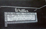 Whittier Drive-In exterior