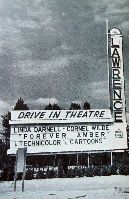 Lawrence Drive-In exterior
