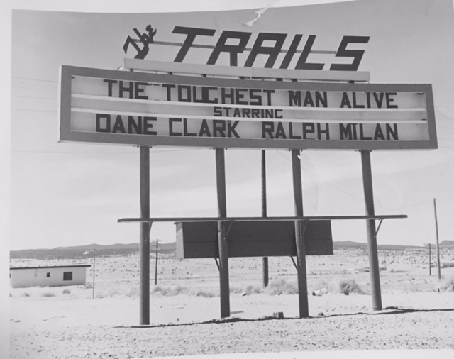 The Trails sign
