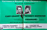 """Charade"" trade paper ad for Radio City Music Hall and Chinese Theatre opening"