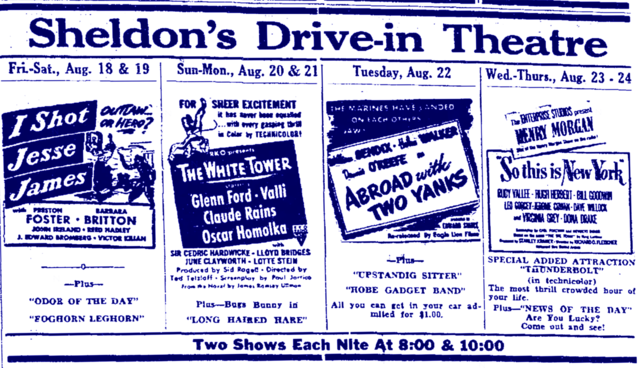 Sheldon's Drive-In