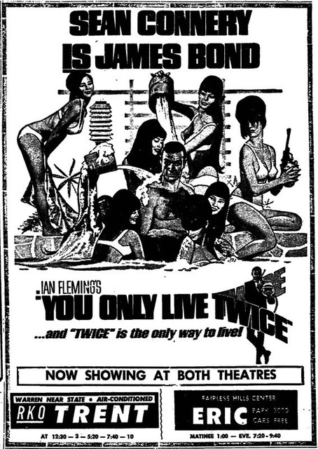 YOU ONLY LIVE TWICE(1967)