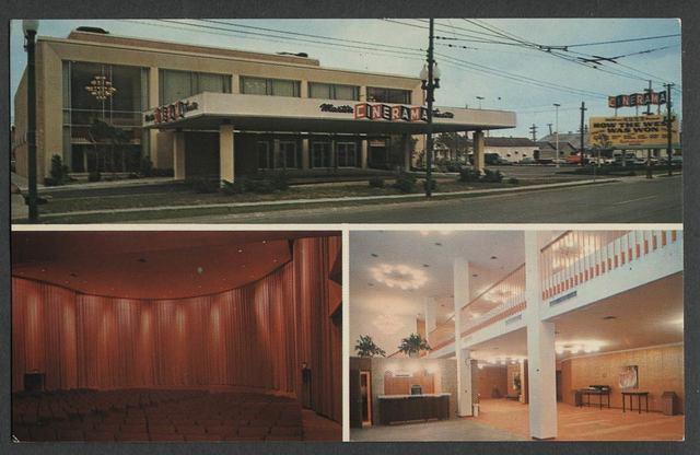 Martin Cinerama Postcard