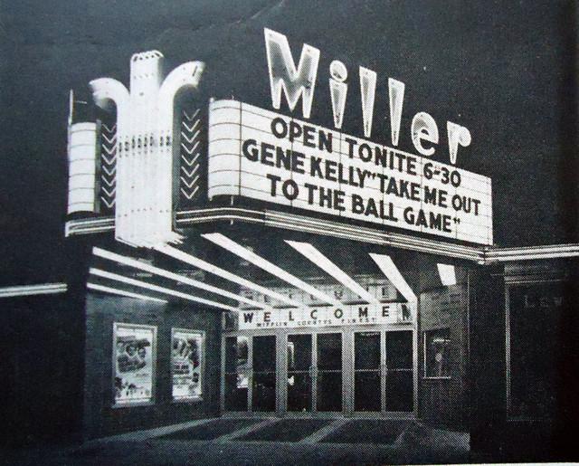 Miller Theatre exterior
