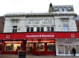 """[""""Aberdeen Walk Picture House, Scarborough""""]"""