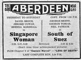"""[""""Aberdeen Cinema, Scarborough""""]"""