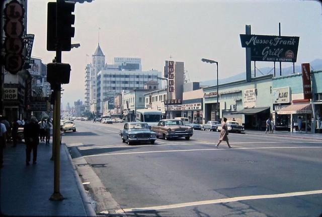 1966 photo courtesy of the Vintage Los Angeles Facebook page.
