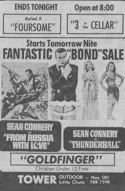 BOND TRIPLE FEATURE(1971)