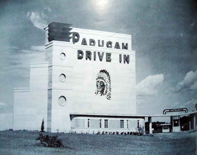 Paducah Drive-In exterior