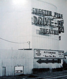 Chester Pike Drive-In exterior