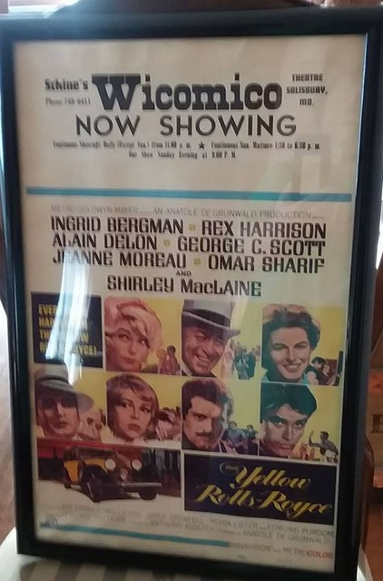 1964 Poster Schine's Wicomico