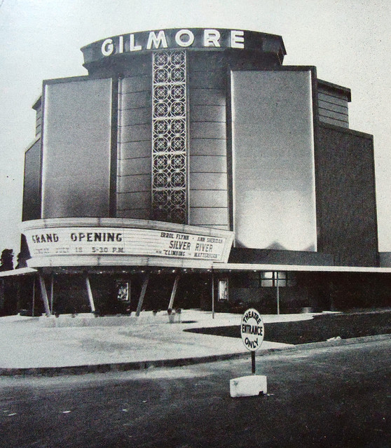 Gilmore Drive-In theatre exterior