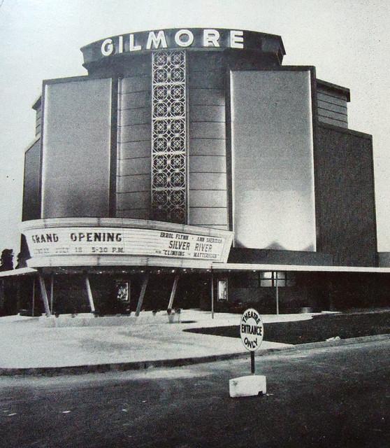 Gilmore Drive-In theatre exterior