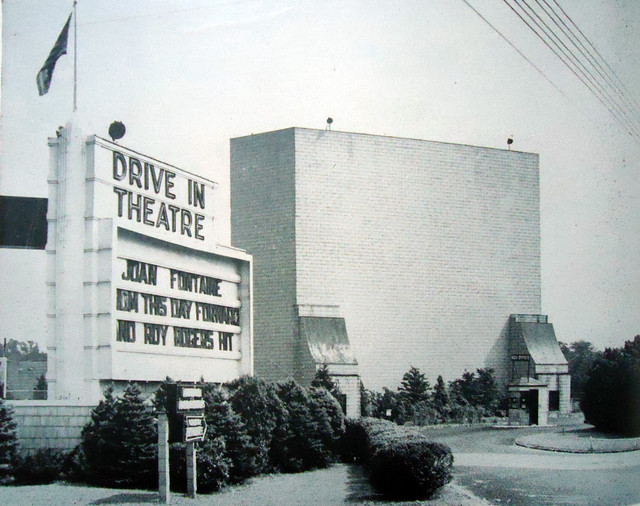 Union Drive-In theatre exterior