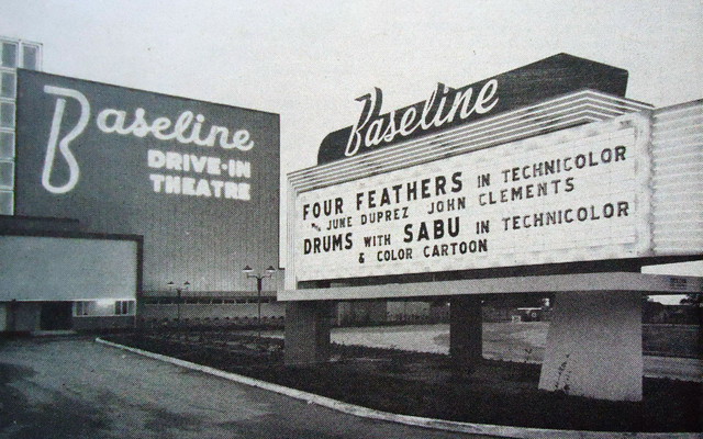 Baseline Drive-In exterior