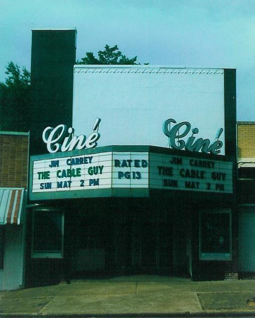Cine Theatre  New Albany, MS  June 1996