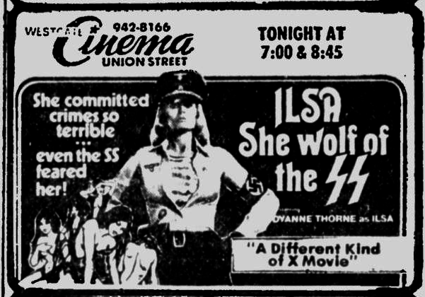 ILSA SHEWOLF OF THE S.S.(1975)