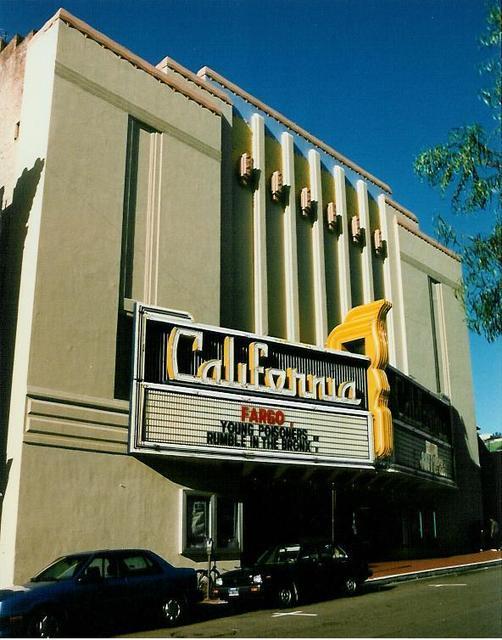 California Theatre  Berkeley, CA  March 1996