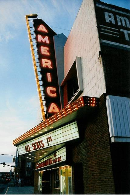 America Theatre  Casper, WY  July 1994
