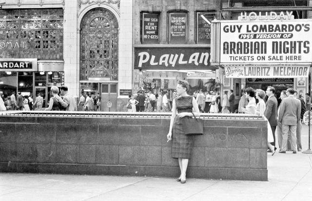 As the Holiday, 1955 photo via Al Ponte's Time Machine-New York Facebook page.