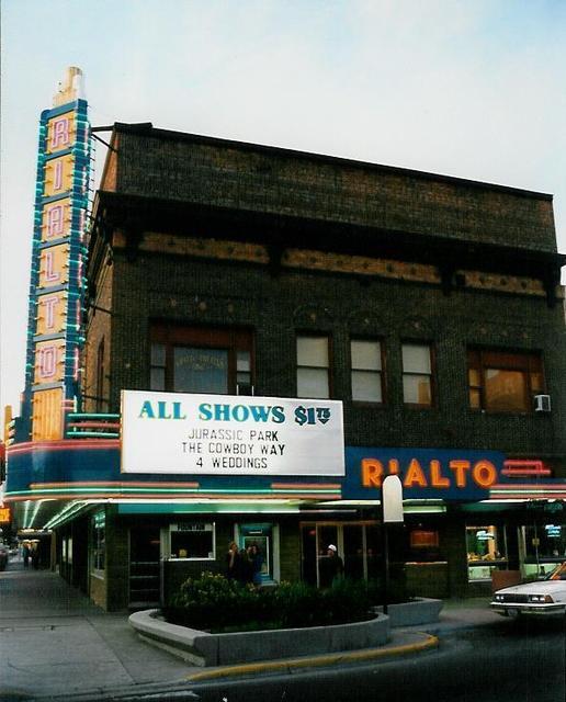 Rialto Theatre  Casper, WY  July 1994