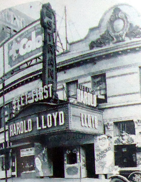 Strand Theatre exterior (before remodel)