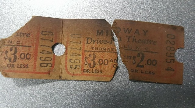 Midway Drive-In Theatre tickets photo credit Jack Fetsko.