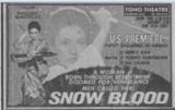 SNOW BLOOD (JAPAN RELEASE-DEC.1st,1973)