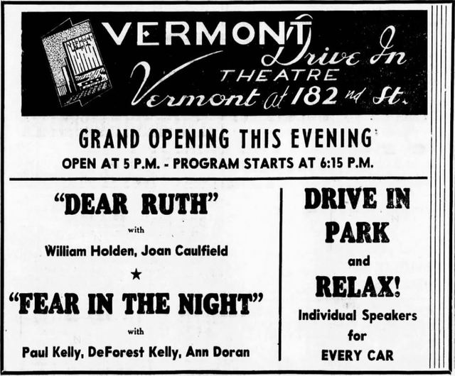 Vermont Drive-In